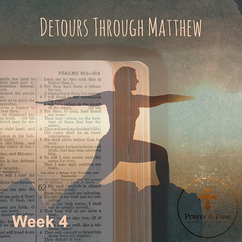 Week Four Study Guide: Detours through Matthew