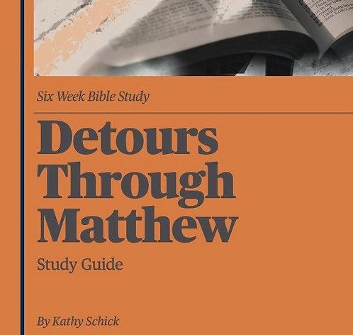 Detours Through Matthew Study Guide