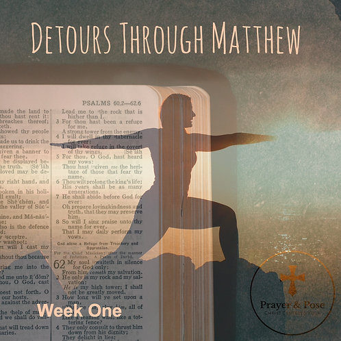 Week One Study Guide:  Detours Through Matthew