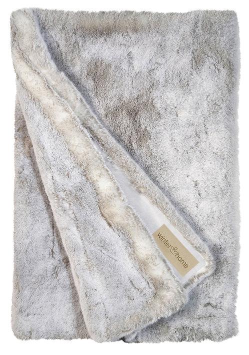 Hoge kwaliteit Plaid - Winterhome - 'Silver Wolf '