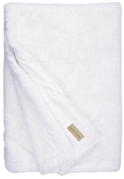 Hoge kwaliteit Plaid - Winterhome - 'Guanaco White'