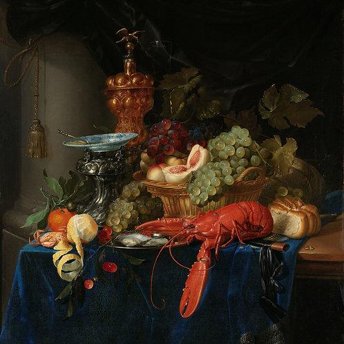 Still Life with a Golden Goblet, Pieter de Ring