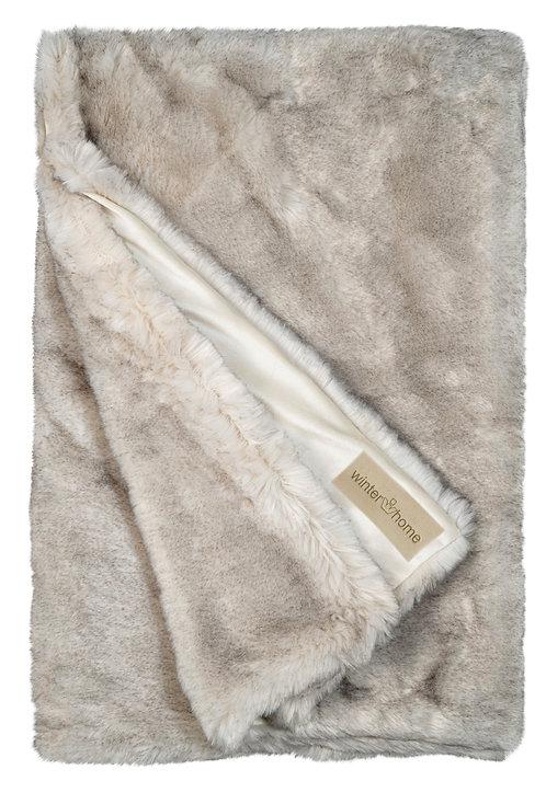 Hoge kwaliteit Plaid - Winterhome - 'Iberian Wolf '