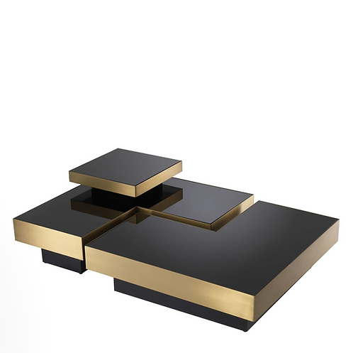 Eichholtz - Coffee Table -'Nio'- Brushed Brass