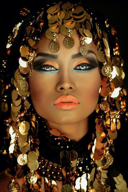 Golden Arabian Princess