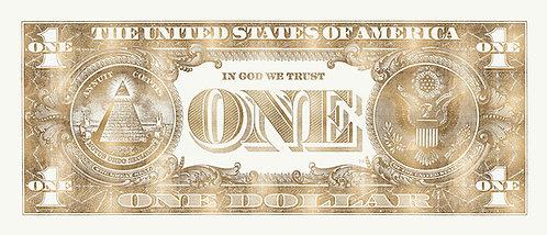 One Dollar Gold Beige Gold