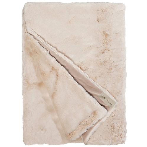 Hoge kwaliteit Plaid - 200 x 140 - Winterhome - 'Seal Sand'