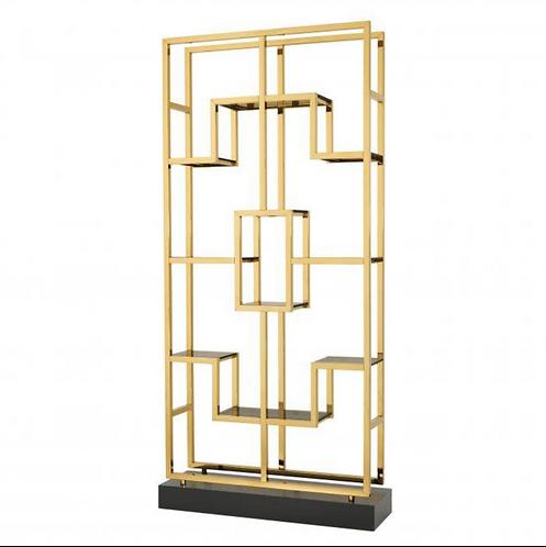 Eichholtz Cabinet - 'Lagonda' - Gold - Smoke Glass