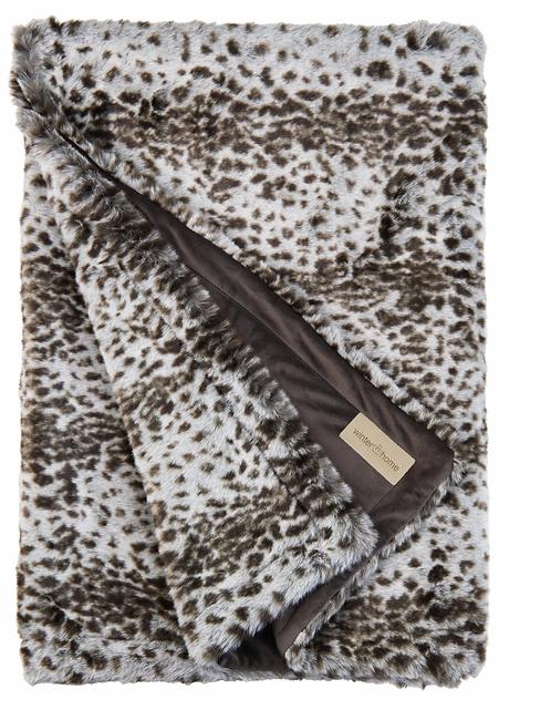 Winterhome - Hoge kwaliteit Plaid - 200 x 140 - 'Serval'