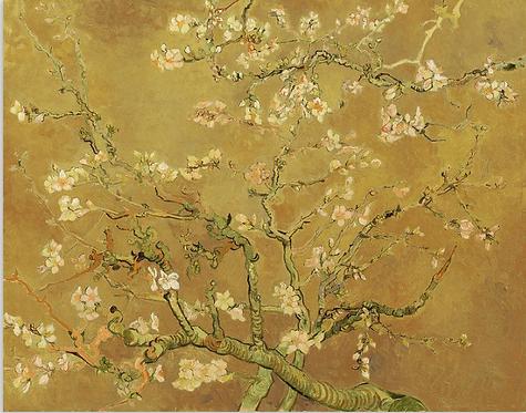 Van Gogh's 'Gold Almond Blossom'