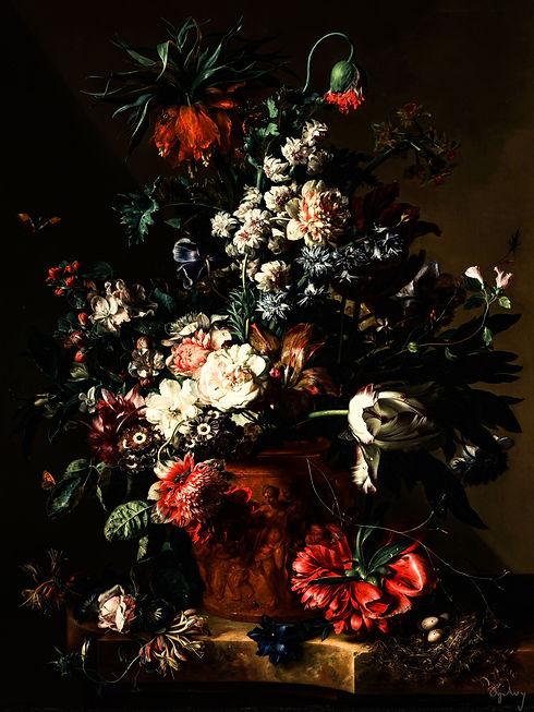 Collor Classic beautiful Flowers Classic