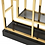 Thumbnail: Eichholtz Cabinet - 'Lagonda' - Gold - Smoke Glass
