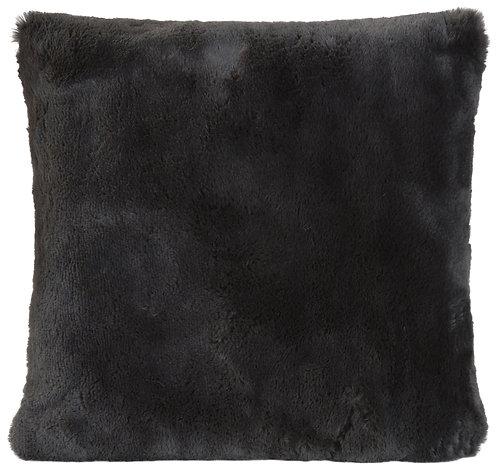 Winterhome - Hoge kwaliteit Kussen - 45 x 45 - 'Guanaco anthracite Fur'