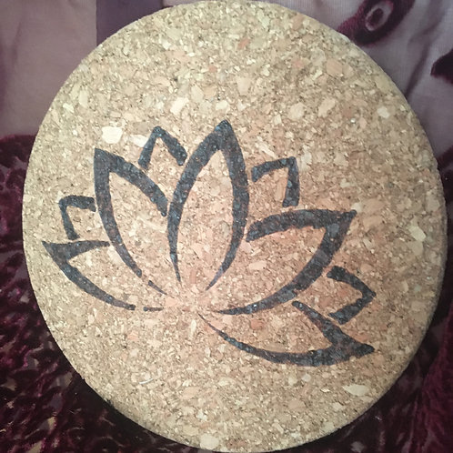 Lotus Cork Board Trivet