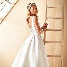 Manu Garcia La Soierie Chantal Olivier Marylise Bridal La Soierie Chantal Olivier robe de mariee bordaux mariage boutique mariee