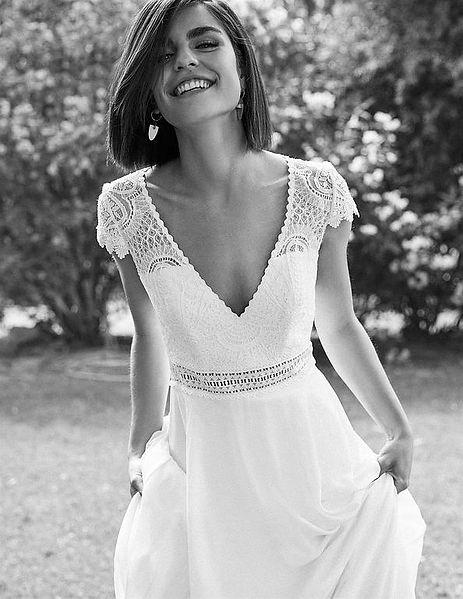 Marylise Bridal La Soierie Chantal Olivier robe de mariee bordaux mariage boutique mariee