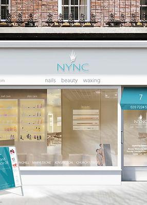branded shop front design - visualisation
