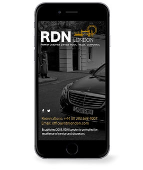 Website design. Mobile version.
