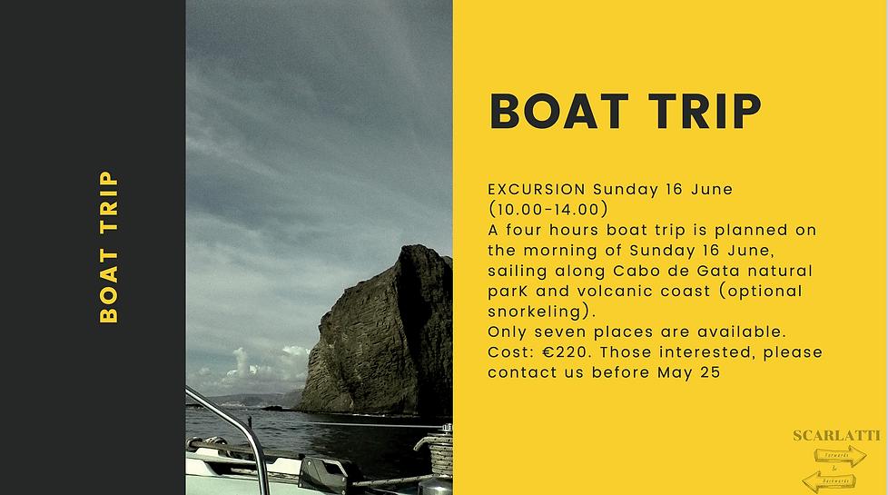boat Trip FIMTE 2019