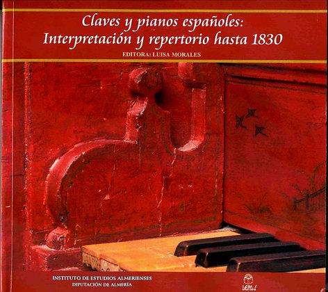Claves y pianos Españoles (OUT  OF  PRINT)