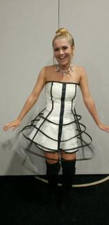 Glow Cage Dress