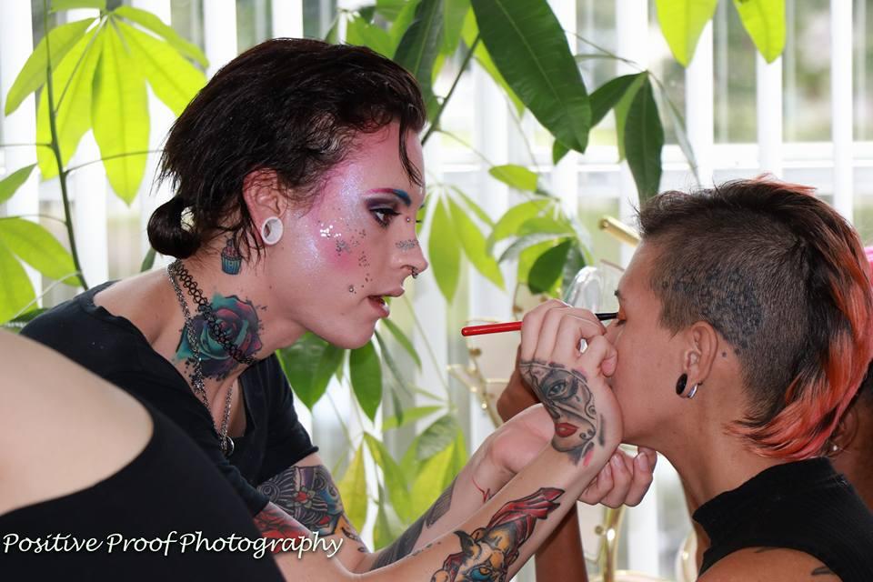 bts raw makeup