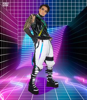 Glow-in-the-dark Pants
