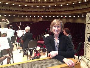 Lisa Emenheiser at Carnegie Hall