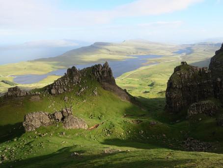 Van links naar rechts, Coast to Coast RatRace in Schotland