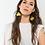 Thumbnail: Yellow flower earrings (Leaverbacks)