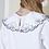 Thumbnail: Embroidered puritan collar blouse