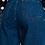 Thumbnail: Straight cut high waist slouch denim trouser