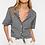 Thumbnail: Gingham print blouse