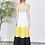 Thumbnail: Spaghetti strap maxi multicolor Dress