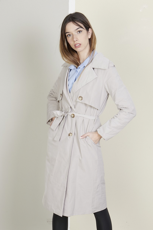 Doble breasted trench coat