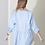 Thumbnail: Asymmetrical babydoll blouse