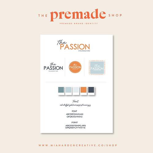 The Passion – Premade Brand Identity Kit
