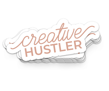 Creative Hustler DieCut Sticker