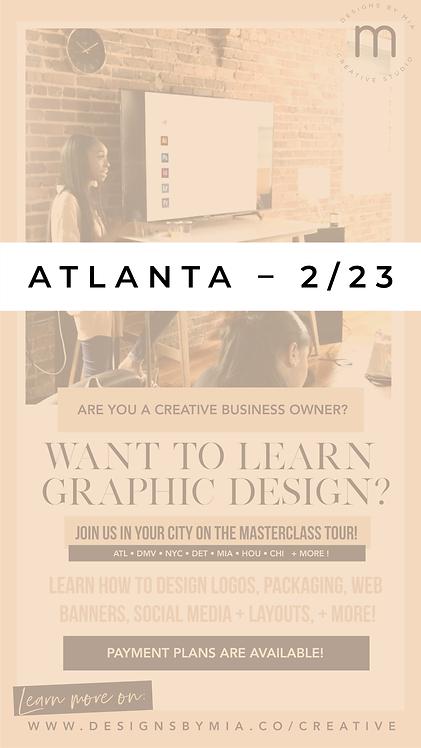 The Design Academy - Atlanta, Georgia – Full Payment