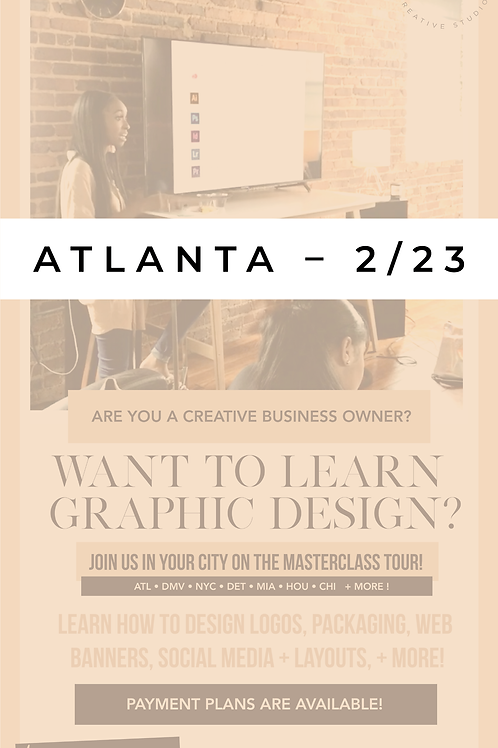 The Design Academy - Atlanta, Georgia – Full Payment