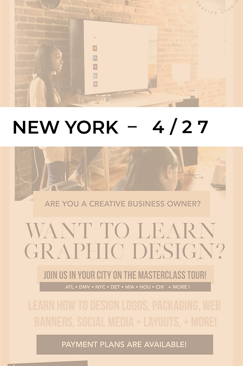 The Design Academy - NYC – Full Payment