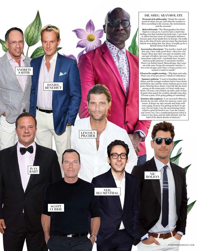 2019 Hampton's Most Stylish Men