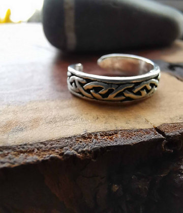 Celtic Adjustable Midi and Toe Ring
