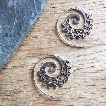 Medium Pattern Ear Spirals