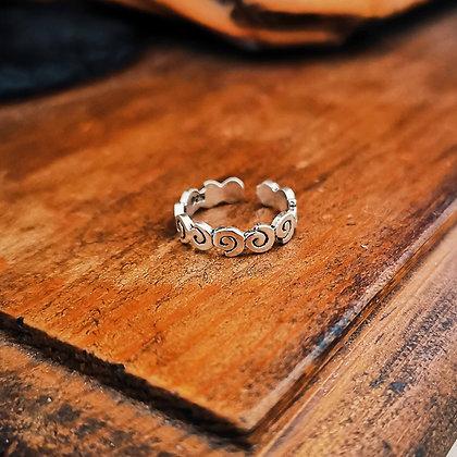 Spiral Toe/Midi Ring