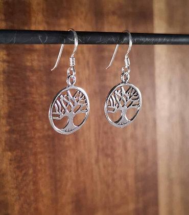 Medium Tree Of Life Earrings