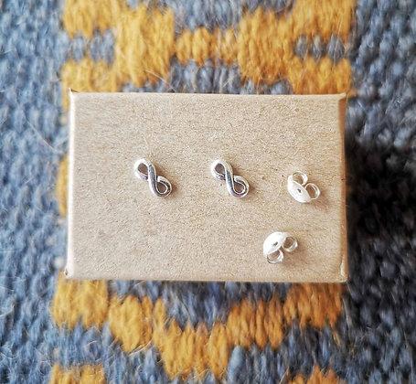 Infinity/ Figure of Eight Ear Studs