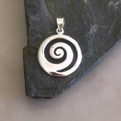 Medium Spiral Pendant