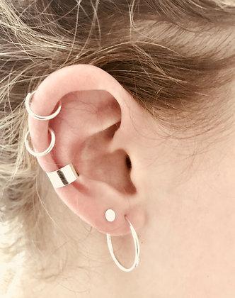 Plain Sterling Silver Ear Cuff