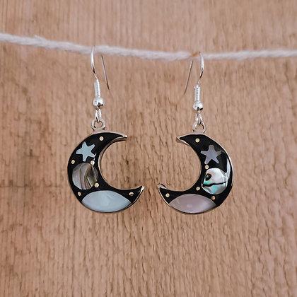 Celestial Moon Earrings